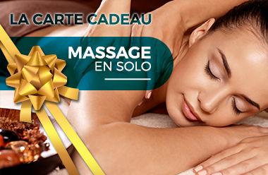 Massage en solo de 45 minutes